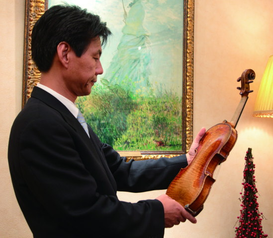 バイオリンの鑑定