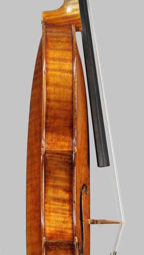 ヴァイオリン側面