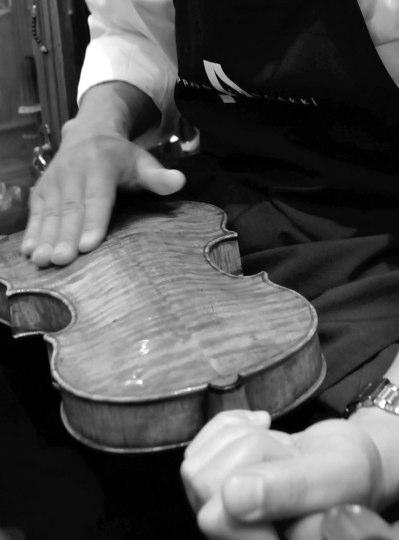 ヴァイオリンの調整