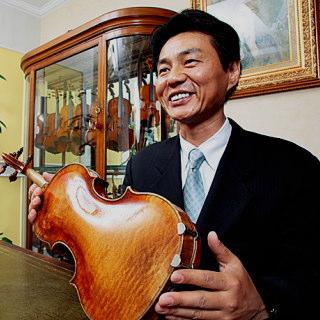 ヴァイオリンに導かれて